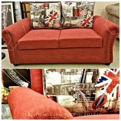 Cushioned Sofa Zeist